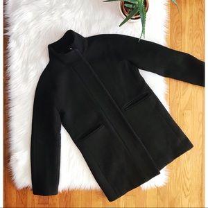 J. Crew Stadium Cloth Wool Cocoon Coat